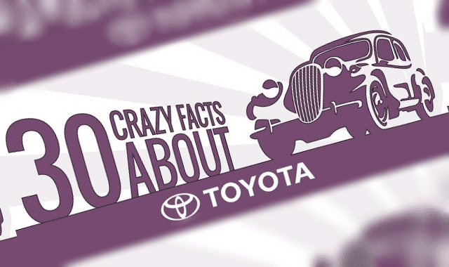 30 Crazy Facts About Toyota