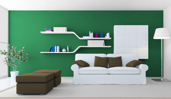 Warm Green, Media and Cold for Your Interior 2