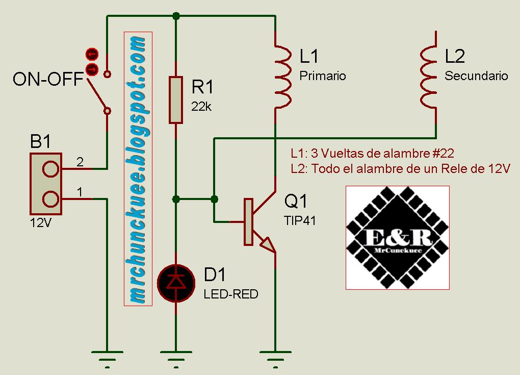 Circuito Bobina De Tesla : Pequeña bobina de tesla mrchunckuee