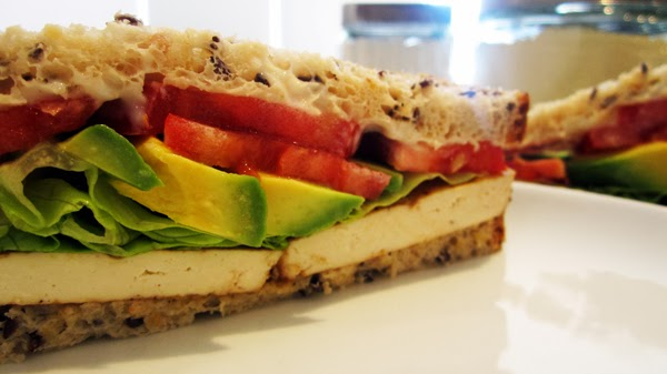 Quick & Easy Tofu Sandwich Image