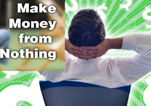 Make Money From Nothing Online