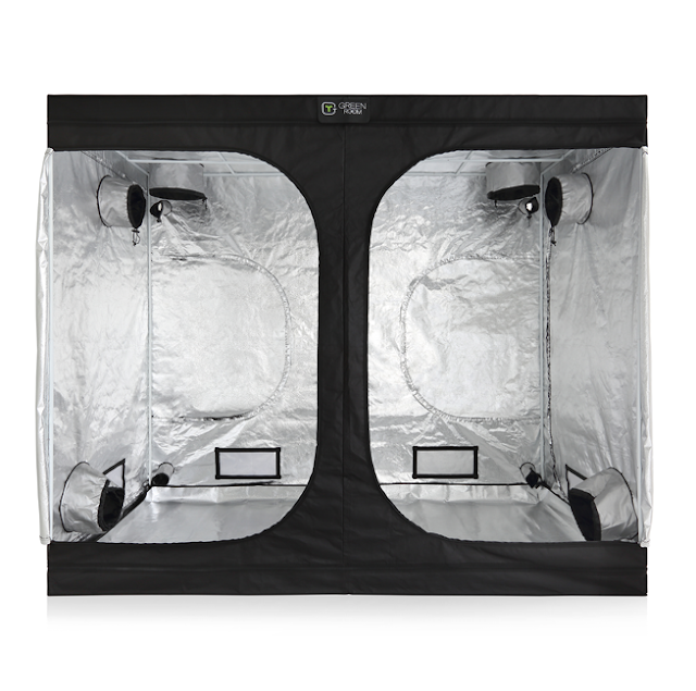 A professional complete package of 4x8 grow tent for growing marijuana indoors