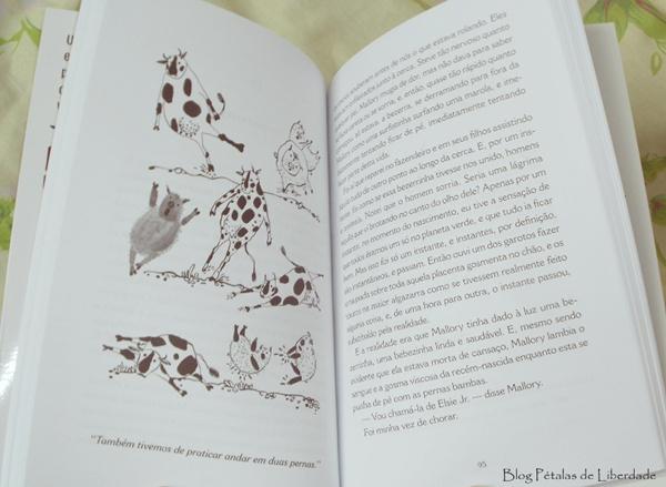 ilustração, diagramação, fotos, livro, Holy Cow, David Duchovny