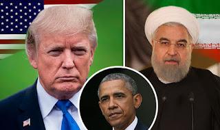US President Trump, Former USA President Obama, Iran Leader Rouhani