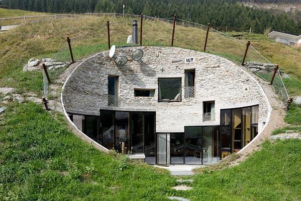 اغرب 10 منازل في العالم و أجملها بالصور !