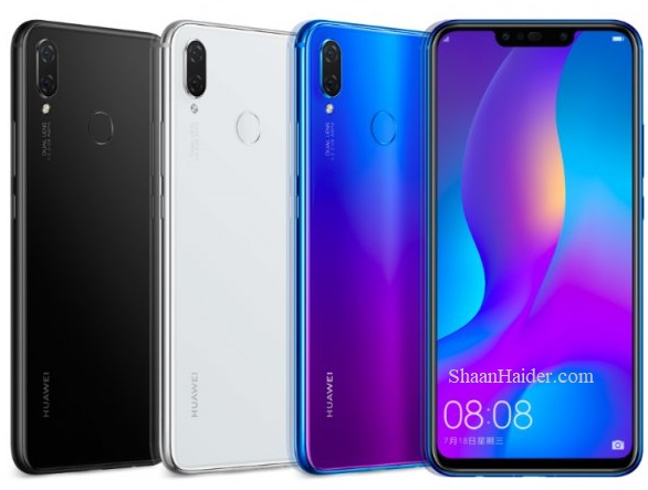 Huawei Nova 3i : Full Hardware Specs, Features, Prices and Availability