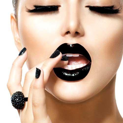 tendencias maquillaje otoño 2016 labios oscuros