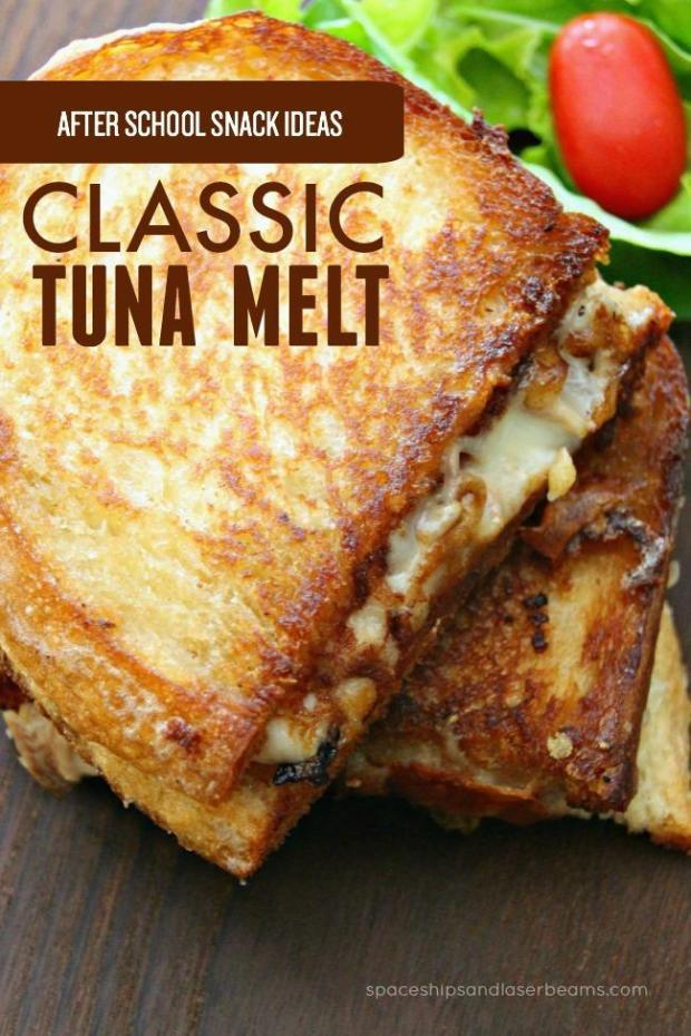 #classic #tuna #melt #recipe #sandwich