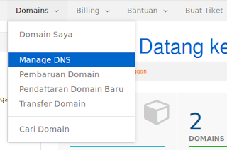 Custom Domain Blogspot di Exabytes