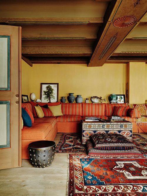 Autumn Inspired Bohemian Home Decor. Fall Home Decor. Bohemian Decor  Bedroom Bohemian Decorating Ideas