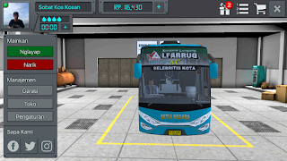 Review Livery Bus BUSSID PO Setia Negara Alfaruq HD + Link Download Livery BUSSID