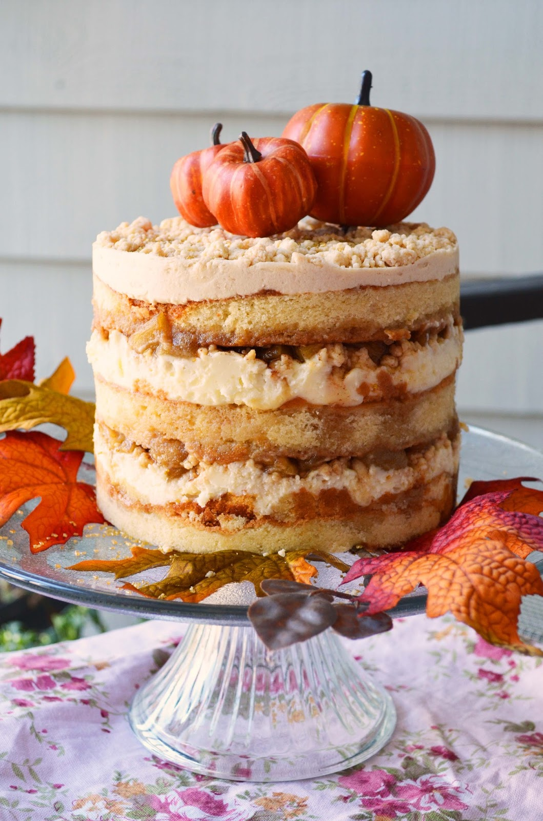 Our Beautiful Mess Apple Pie Layer Cake