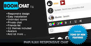 Free Download Boomchat v7.1 – Responsive PHP/AJAX Chat