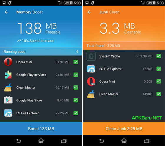 Cleaner Speed Booster Pro v2.0.3 Apk Terbaru