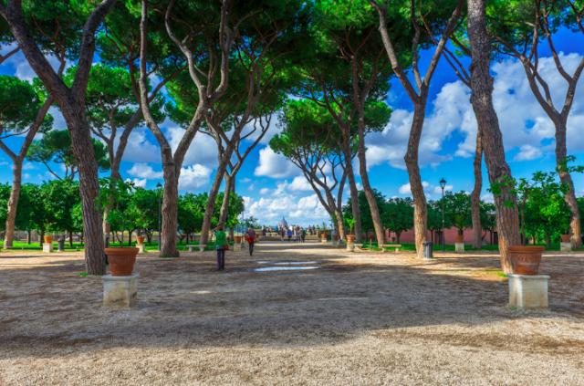 giardino degli aranci roma