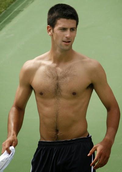 Male Model Street Novak Djokovic