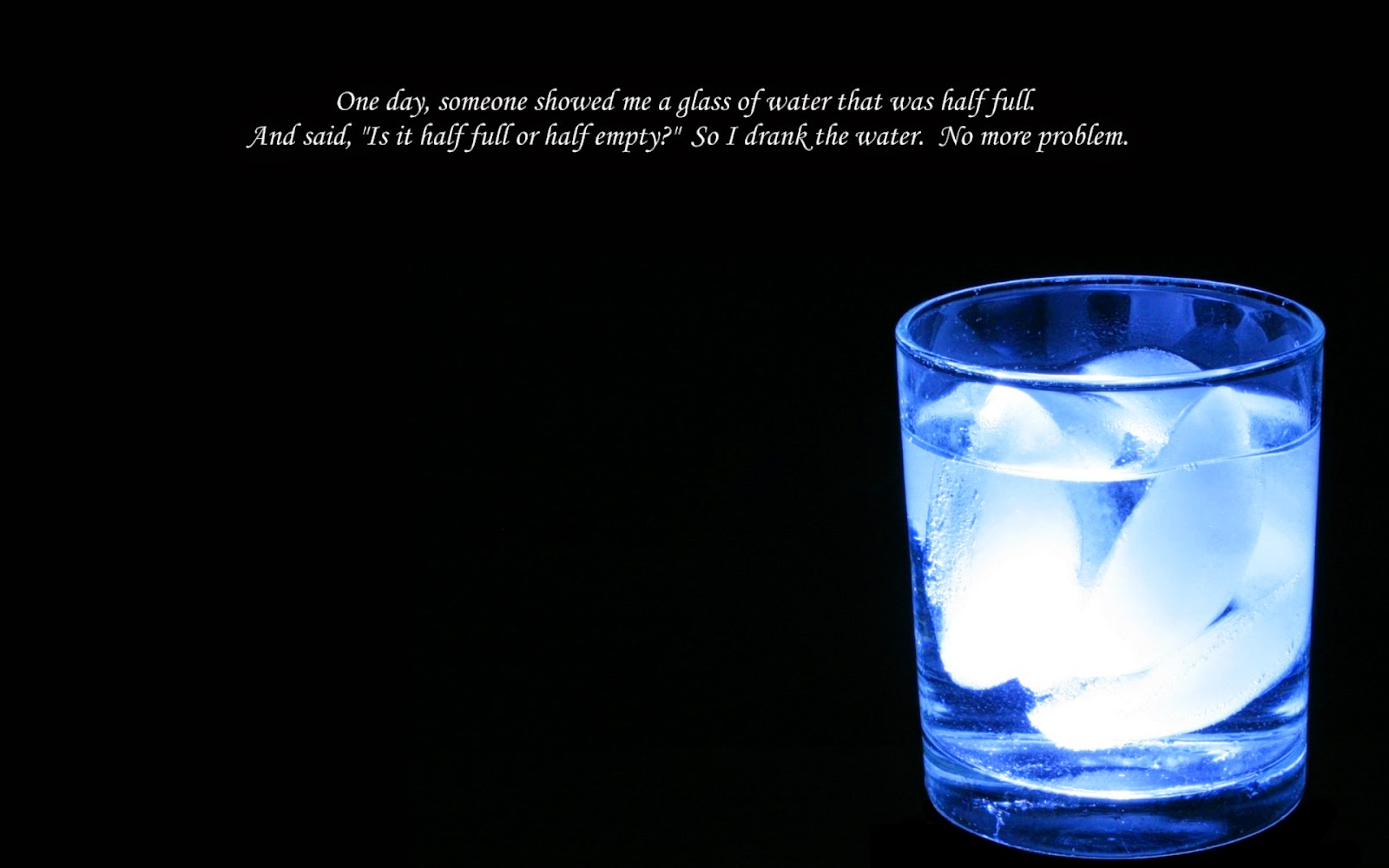 Cup Half Full Quotes: Profound Glass Half Empty Quotes. QuotesGram