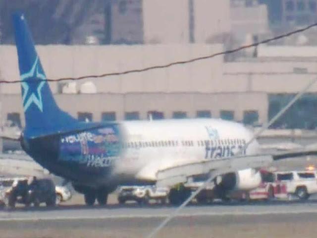 Air Transat Flight Makes Emergency Landing at Newark International Airport