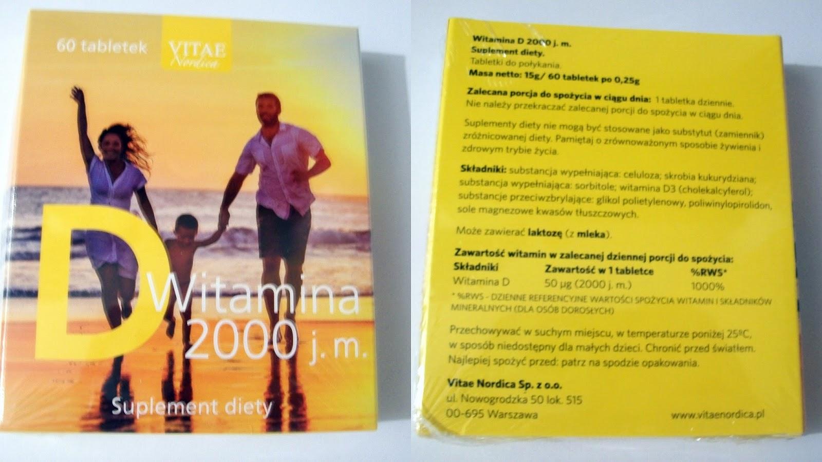 darmowa witamina D 2000 j.m.