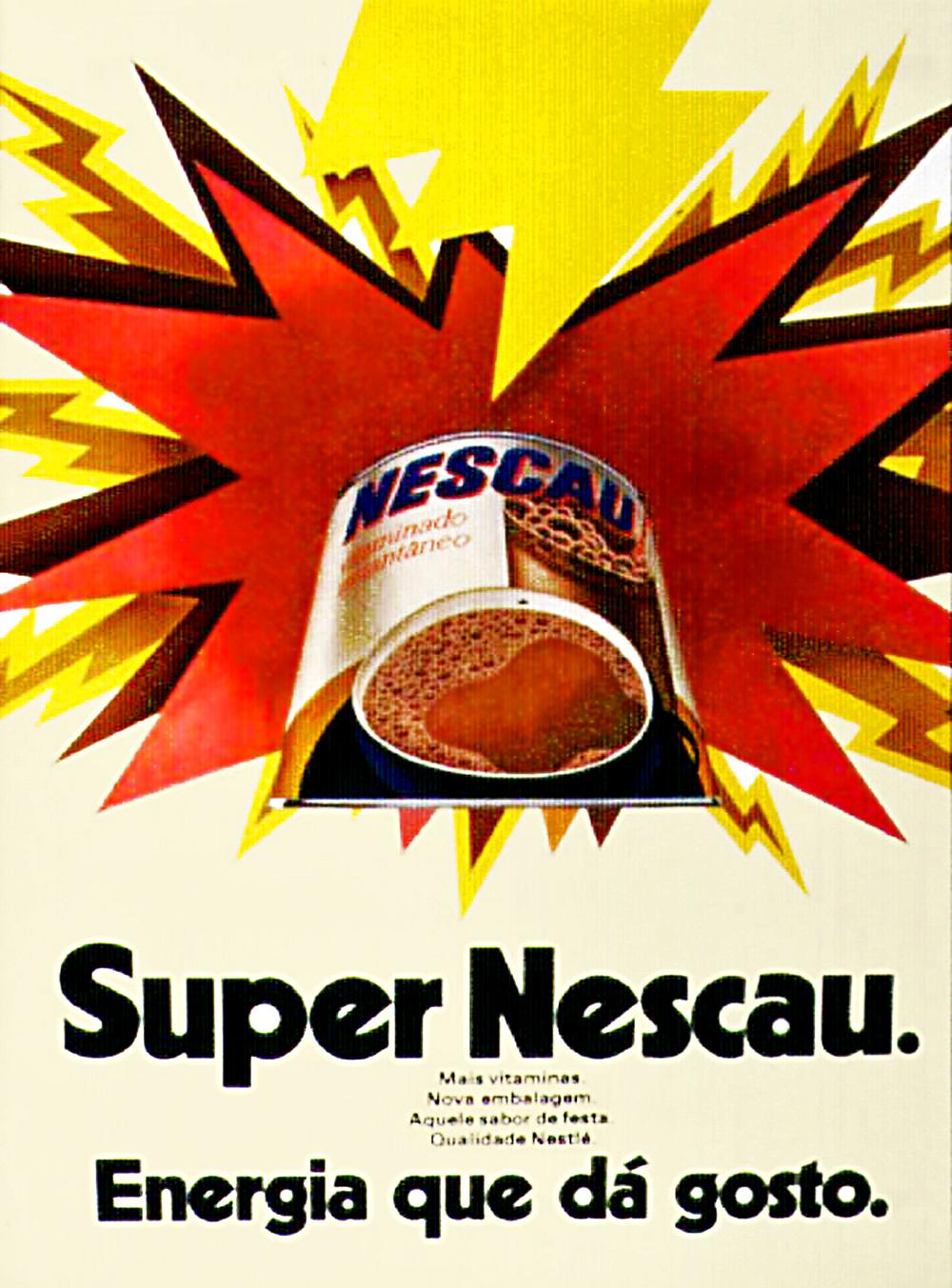 Propaganda antiga do Nescau veiculada em 1972