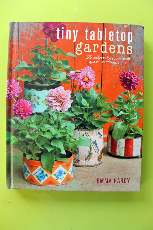 Book Review - Tiny Tabletop Gardens