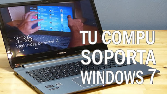 COMO SABER SI TU PC SOPORTA WINDOWS 7