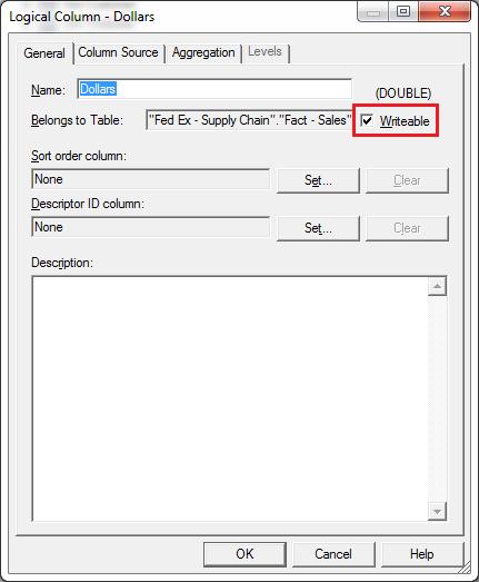 Executive Privilege Mode: WriteBack Configuration In OBIEE 12c