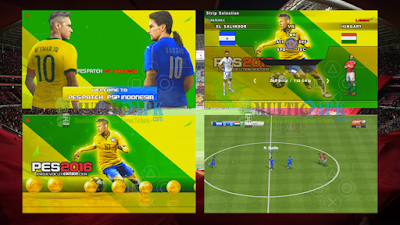 PES 2016 Patch Rixall V1 ISO PPSSPP Android