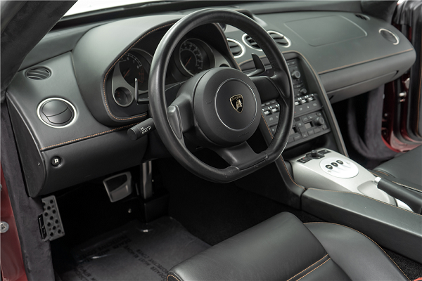 Ford Mustang Lamborghini Gallardo Tractorri Interior