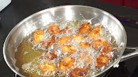 Frying-the-chicken
