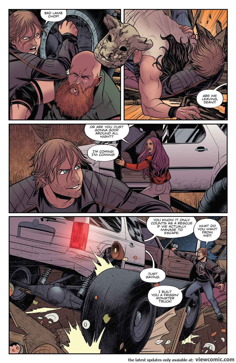 WWE 007 (2017)  | Vietcomic.net reading comics online for free