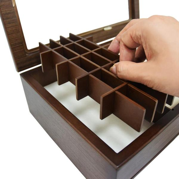 The Wooden Jewelry Organizer Box can keep your jewelry scratch-free