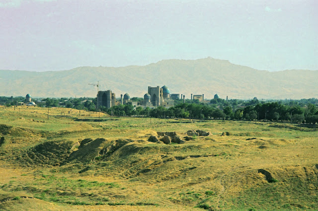 Ouzbekistan, Samarcande, Afrasiab, © L. Gigout, 1999
