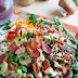 Chicken And Wild Rice Kale Salad In A Creamy Asiago Balsamic Dressing Recipe