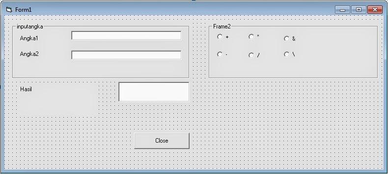 Praktikum Pemrograman Visual Basic