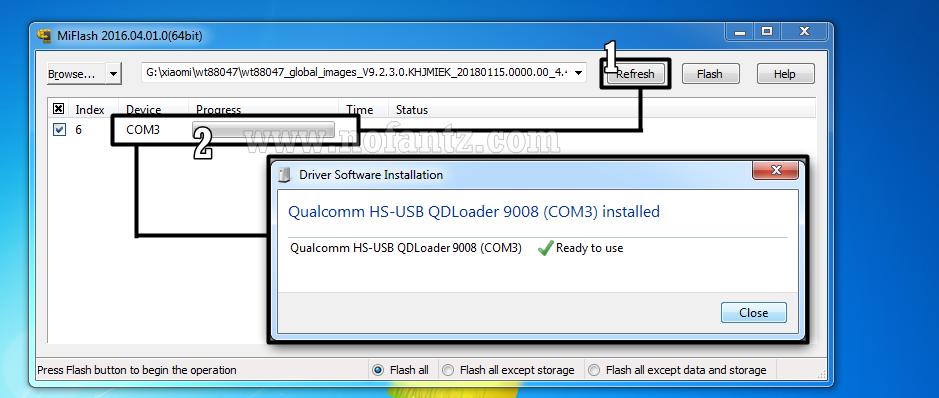 Tutorial Unbrick dan Fix Bootloop Redmi 2 wt88047 MiFlash Tool Tested 100%