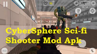 Download CyberSphere Sci-fi Shooter Mod Apk