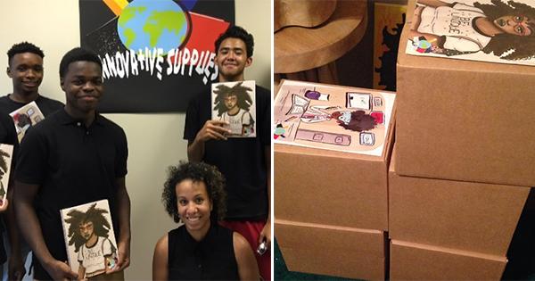 Nneka, founder of Innovative School Supplies
