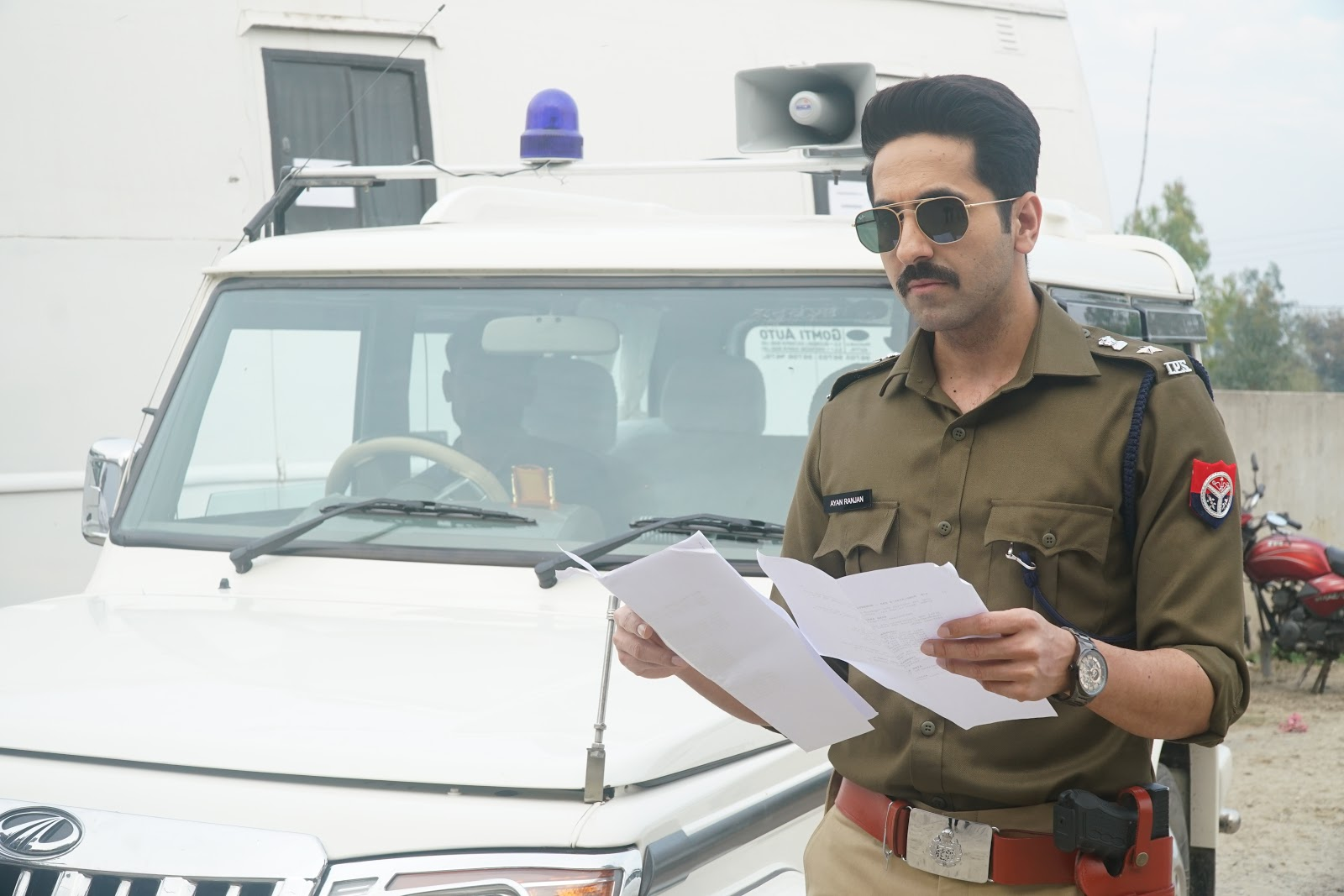 0e44655779a5f Anubhav Sinha Unveils The First Look Of His Next –  Article 15  With  Ayushmann Khurrana In The Lead