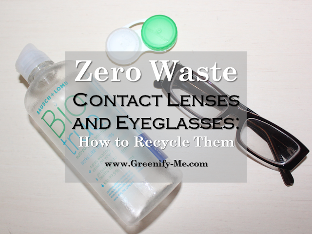zero waste contact lenses and eyeglasses
