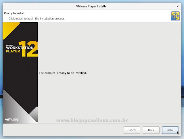"""Comece a instalação clicando em """"Install"""""""