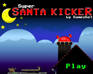 Super Santa Kiker