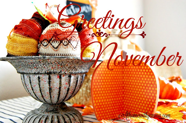 Fall-vignette-decorating-November-pumpkin-athomewithjemma