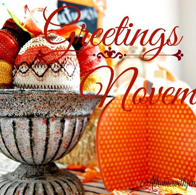 Greetings To November