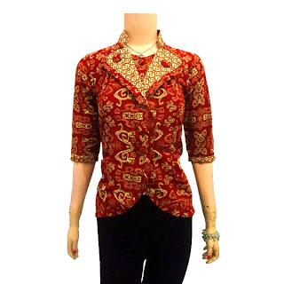 Contoh Mengenai Model Baju Batik Terbaru Dan Trend Batik Modern