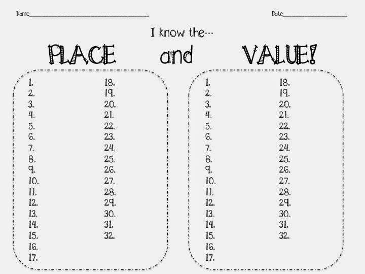 Fourth Grade Fab: Place Value Bundle Pack