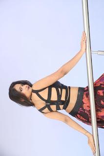 Shriya Vyas in a Tight Backless Sleeveless Crop top and Skirt 102.JPG