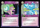 My Little Pony Spike, Crystal Hero The Crystal Games CCG Card