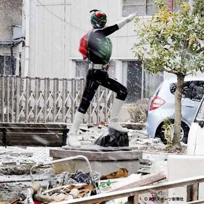 Kamen Rider Statue Miyagi