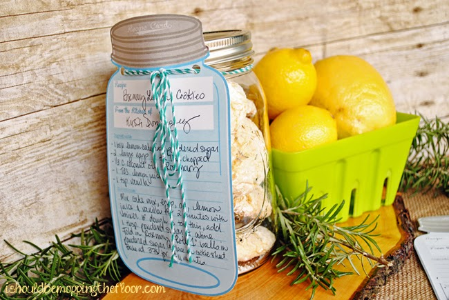I Should Be Mopping The Floor Free Printable Mason Jar Recipe Cards